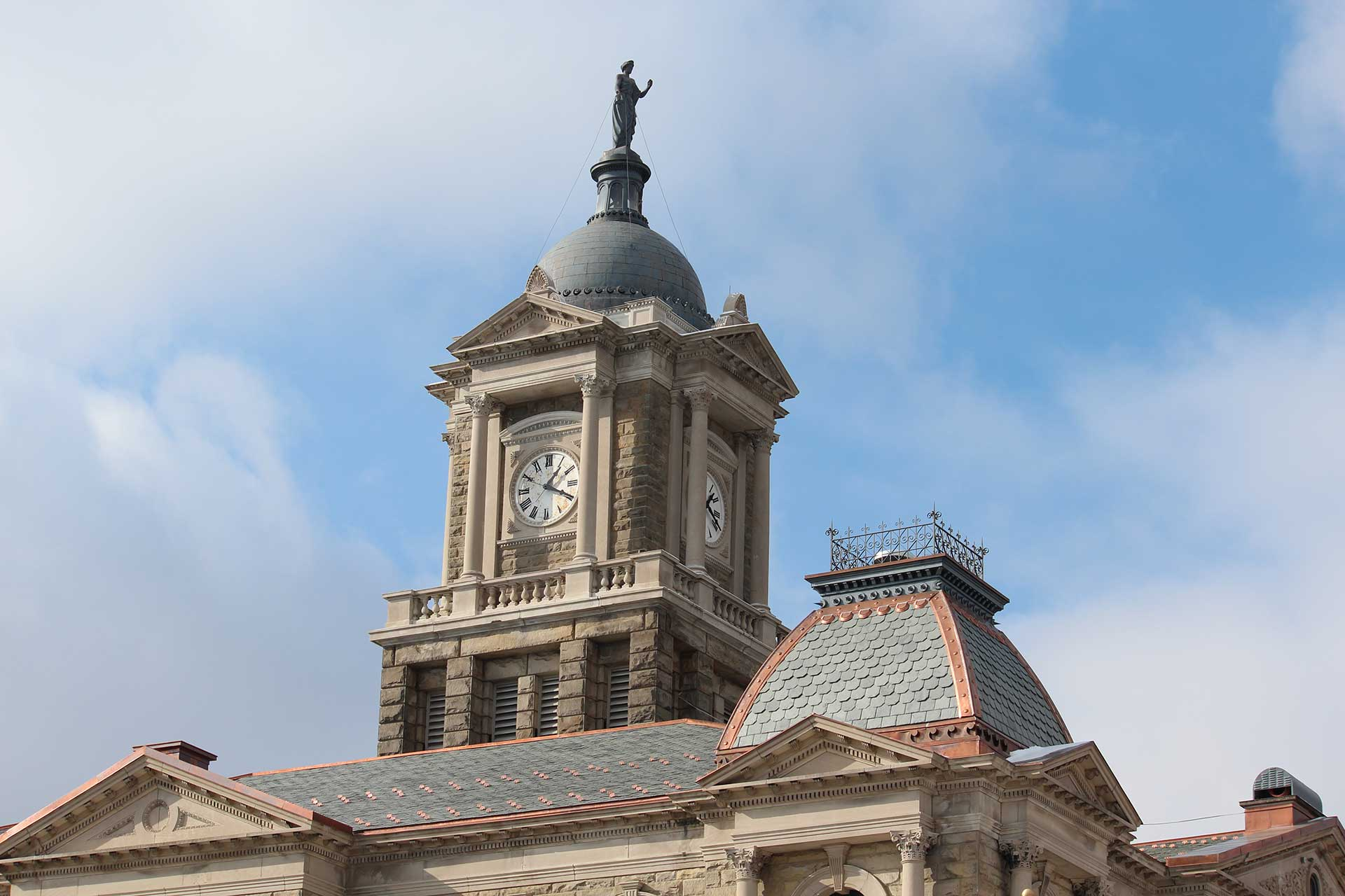 Harrison County Courthouse Kalkreuth Roofing And Sheet Metal