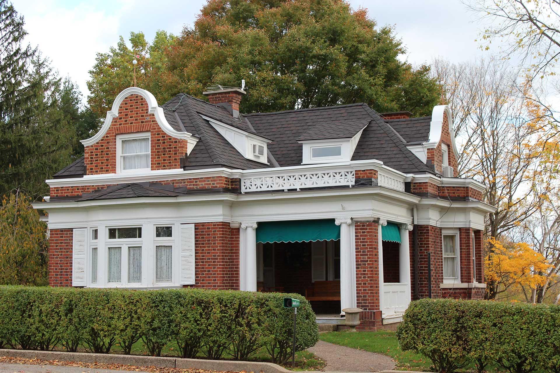 Oglebay Park Gate House Kalkreuth Roofing And Sheet Metal