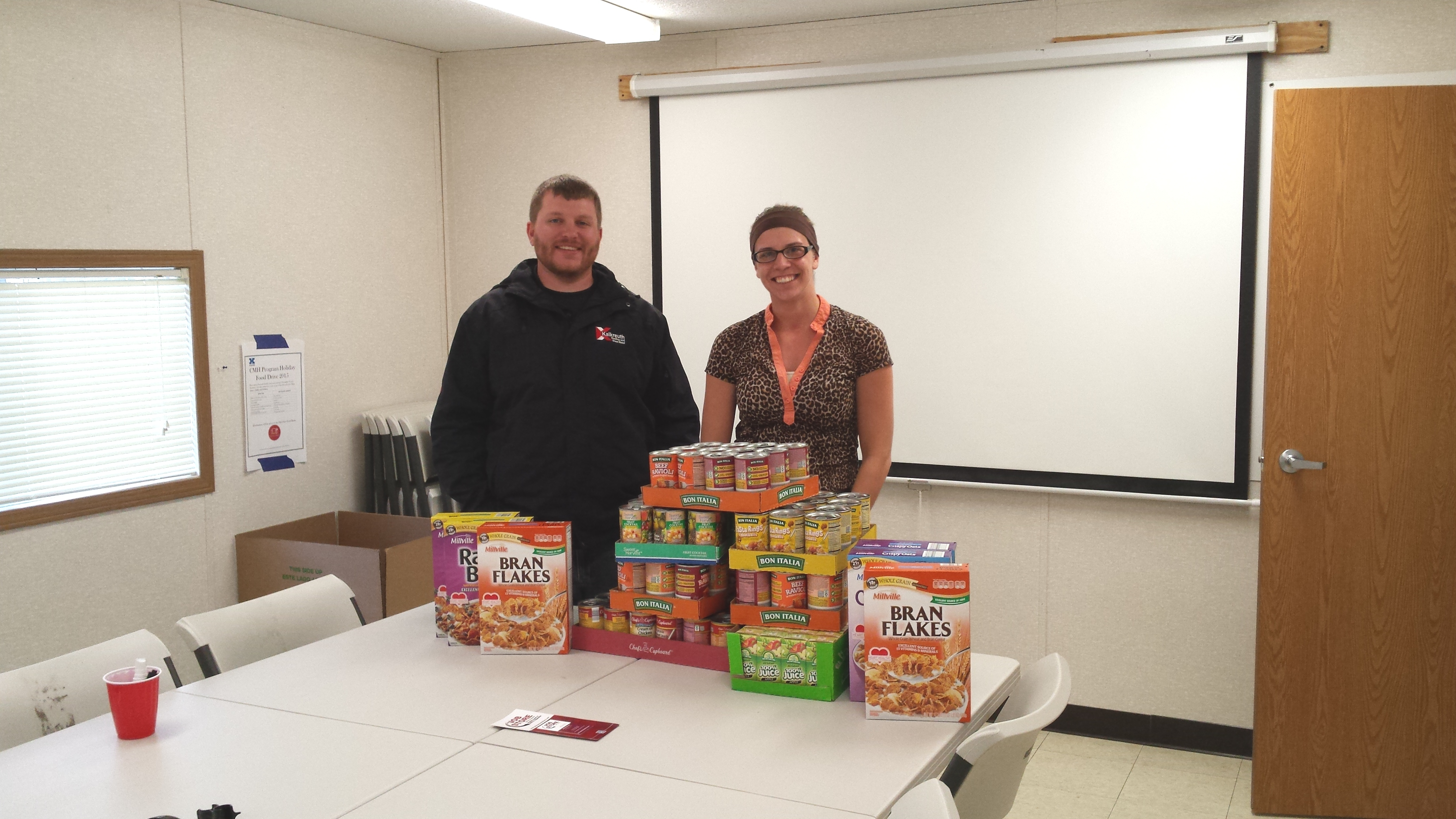 Kalkreuth Joins Annual Food Drive Kalkreuth Roofing And
