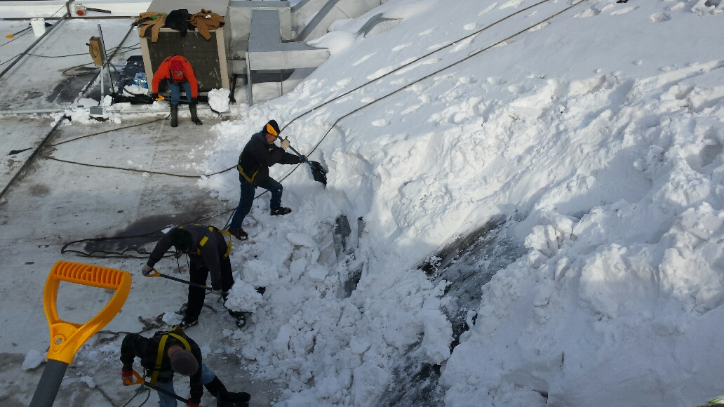 Kalkreuth Joins Rooftop Snow Removal Efforts Kalkreuth