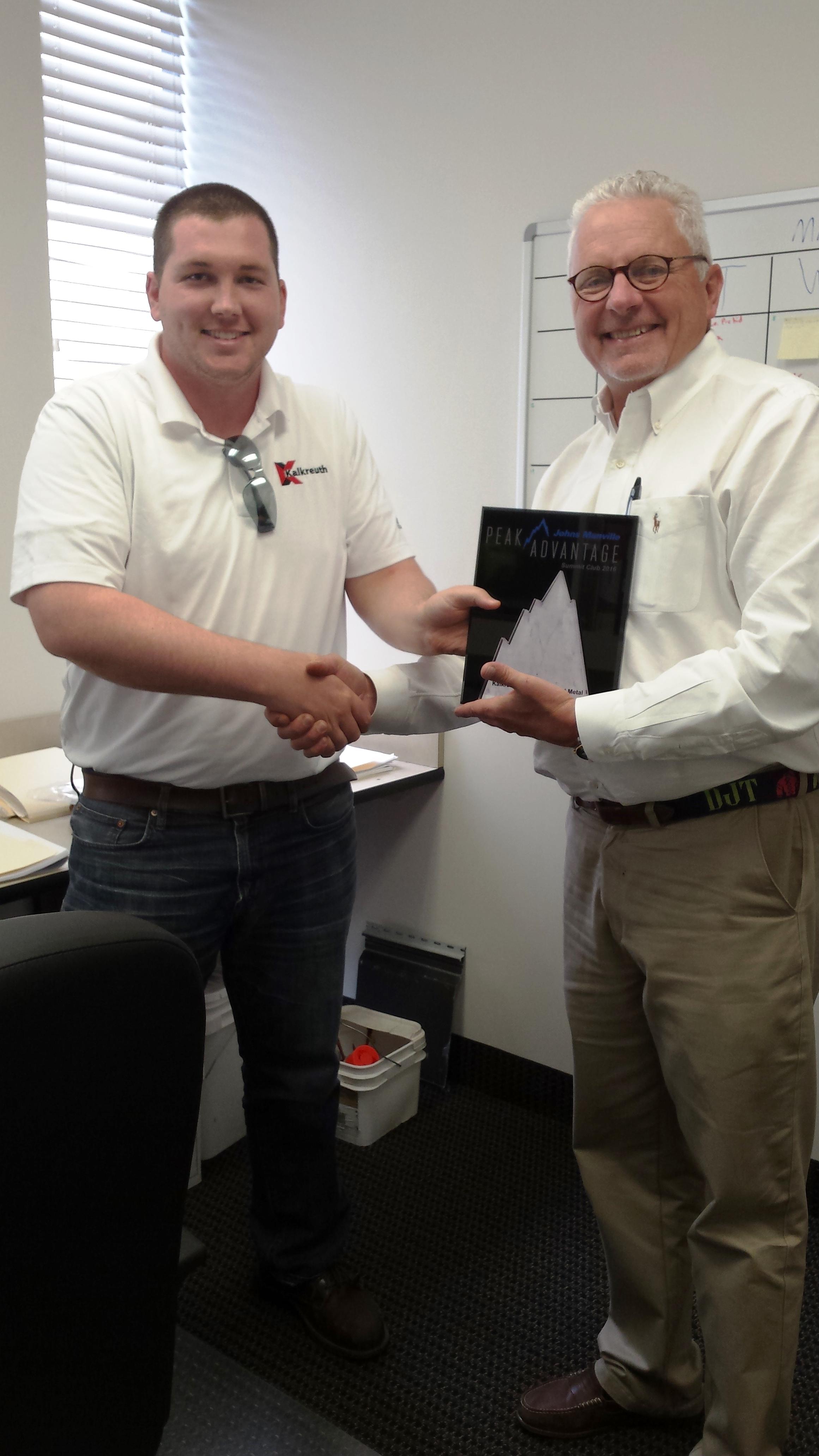 Kentucky Division Earns Jm Summit Club Achievement