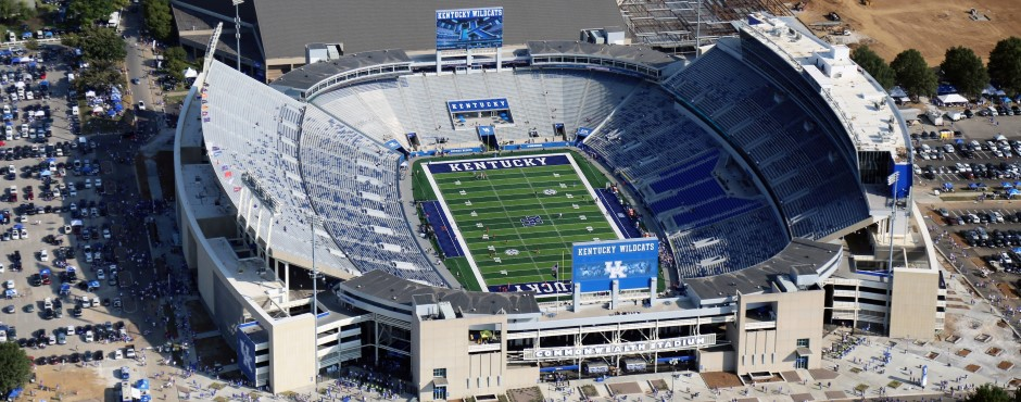 University Of Kentucky Commonwealth Stadium Kalkreuth