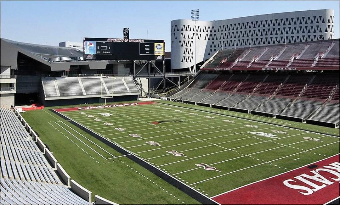 University Of Cincinnati Nippert Stadium Kalkreuth