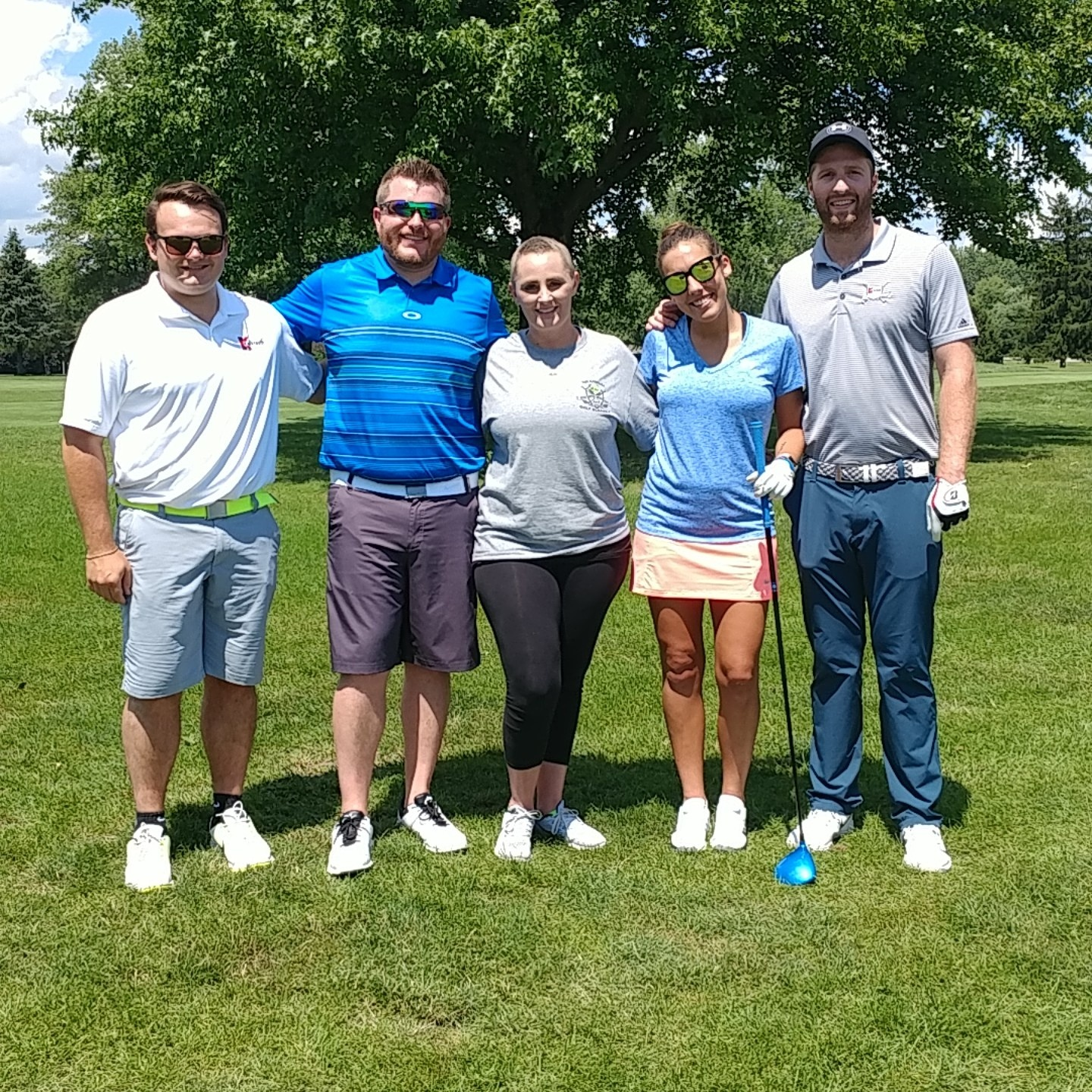 Pelotonia Golf Outing Kalkreuth Roofing And Sheet Metal