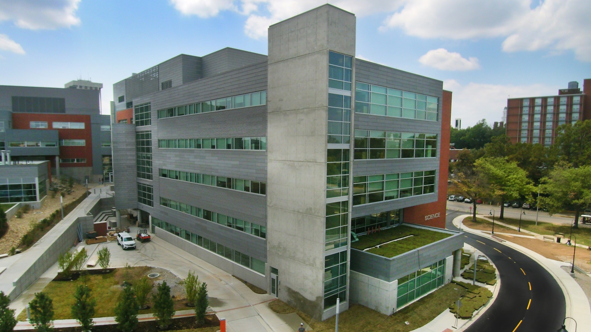 Eastern Kentucky University Science Center Kalkreuth